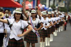 Este sería el segundo año que no se realizan desfiles patrios en Panamá por la pandemia. Foto: Grupo Epasa