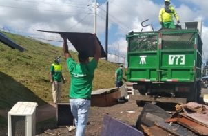 En el área metropolitana se recolectan más de 2 mil toneladas diarias de desechos sólidos. Foto: Cortesía