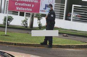 El hecho se registró en la avenida 12 de Octubre. Foto: Redes sociales