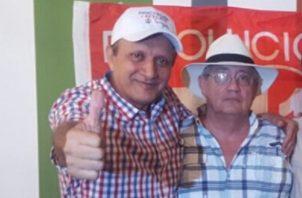 Francisco Israel Rodríguez (gorra blanca), es el actual director del DAS, y mantiene un proceso abierto en el Tribunal de Cuentas. Archivo