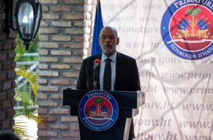 El primer ministro de Haití, Ariel Henry. Foto: EFE