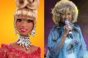 Celia Cruz. Foto: Barbie / Archivo / EFE