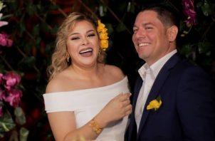 Margarita Henríquez y Jorge Luis Bustavino. Foto: Instagram / @margaritahenriquez507 / @soy_jorgealonso