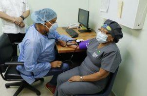 La vacunación contra la covid-19 en Panamá se inició el 20 de enero de 2021. Foto: Grupo Epasa
