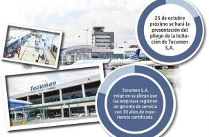 La mayoría de las empresas nacionales calificó de restrictivo y excluyente el pliego elaborado por Tocumen S.A.