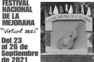 El Festival de La Mejorana se realiza en honor a la Virgen de Las Mercedes, patrona de Guararé. Esta fiesta se realiza a fines de septiembre, pues el 23 de septiembre es el día de Las Mercedes. Foto: Cartel alusivo a la celebración.