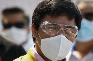 Manny Pacquiao, en una imagen de archivo. EFE
