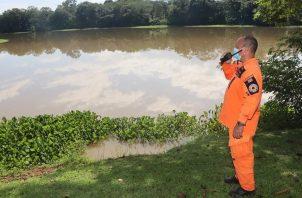 En la época lluviosa las comunidades son vulnerables al desborde de los afluentes. Foto: Diómedes Sánchez