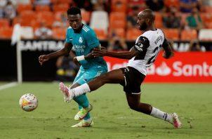 Vinicius lleva cinco goles en la presente temporada. Foto: EFE