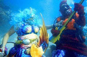 El festival se celebró en el Santuario Marino Nacional de los Cayos. Foto: EFE