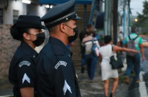 "Programa ""Paradas Seguras"". Foto: Cortesía Policía Nacional"