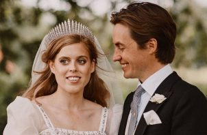 La princesa Beatriz y su esposo Edoardo Mapelli Mozzi. Foto: Instagram