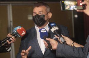 Sidney Sittón recalcó que los fiscales no saben interrogar. Foto: Víctor Arosemena