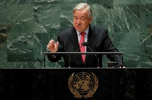 António Guterres, Secretario General de las Naciones Unidas. Foto: EFE