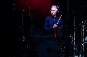 El baterista británico Charlie Watts de la banda The Rolling Stones, en una fotografía de archivo. Foto: EFE / EFE / YOAN VALAT