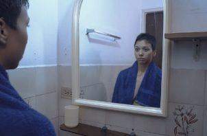 El personaje de 'Sentir' sufrió cáncer de mama. Foto: Cortesía