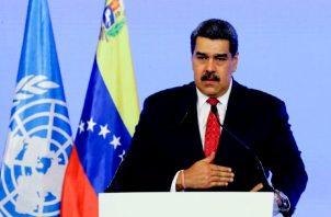 """Venezuela sufre """"una agresión permanente y sistemática a través de sanciones económicas, financieras y petroleras"""", dijo Nicolás Maduro ante la ONU. Foto: Cortesía"""