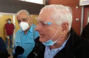 El exmandatario Ricardo Martinelli desea que su juicio se haga público, para que el pueblo panameño conozca la verdad.