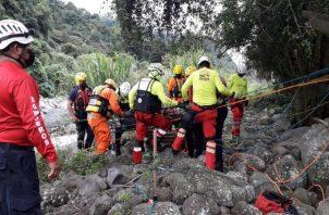El Sinaproc atiende diversas emergencias a nivel nacional. Foto: Cortesía Mingob