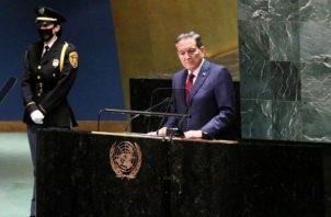 El presidente de la República, Laurentino Cortizo. Foto: Cortesía