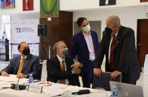 Partes involucradas resaltan avances en negociaciones. Foto: Cortesía/TE