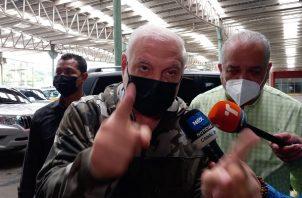 Ricardo Martinelli dijo que toda la verdad saldrá a flote. Foto: Víctor Arosemena