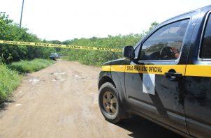 El lugar fue acordonado mientras se realizaban las investigaciones de rigor. Foto: Thays Domínguez