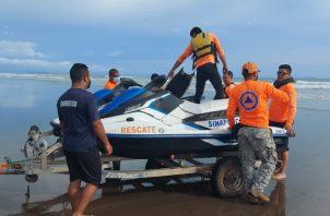 Miembros de la Fuerza de Tarea Conjunta (FTC), participaron en la labor de socorro. Foto: Mayra Madrid