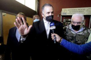 El abogado Alfredo Vallarino dijo que el testimonio dado por el testigo protegido pasara por las pinzas del contrainterrogatorio. Foto: Víctor Arosemena