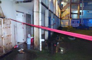 Todos los heridos fueron trasladados al cuarto de urgencias del Complejo Hospitalario Dr. Manuel Amador Guerrero. Foto: Diomedes Sánchez