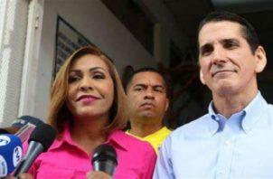 Yanibel Ábrego ha hecho pública sus aspiraciones a presidir Cambio Democrático y derrotar a Rómulo Roux. Foto: Grupo Epasa