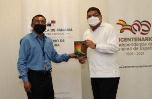 En la actividad participó el ministro de Cultura Carlos Aguilar. Foto: MiCultura