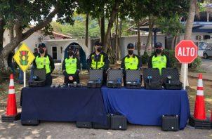 La Policía Nacional realizará operativos de playas y vigilancia en centros comerciales y lugares de diversión. Foto: Cortesía Policía Nacional