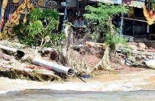 Al menos siete personas han muerto por paso de tormenta tropical en Tailandia. Foto: EFE