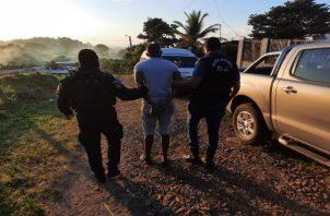 En el sector de El Progreso, también hubo operativos y detenidos. Foto: Eric Montenegro.