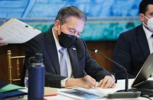 El presidente de la República Laurentino Cortizo. Foto: Cortesía