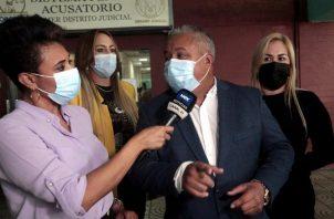 La fiscalía se mantiene empecinada en continuar con el proceso con Martinelli, a pesar de que ha quedado sin argumentos. Foto: Víctor Arosemena