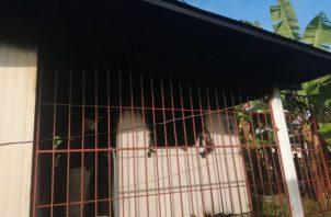 Las autoridades iniciaron las investigaciones para determinar que provocó el incendio que cobró la vida de dos niñas. Foto: Mayra Madrid