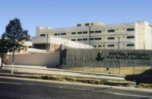 Es la segunda ocasión en este año, que los trabajadores del hospital de San Miguelito decretaron un paro, debido a exigencias salariales. Archivo
