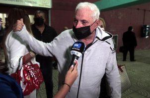 Ricardo Martinelli ha venido denunciado ser víctima de una persecución política que busca inhabilitarlo para las elecciones de 2024. Foto: Víctor Arosemena