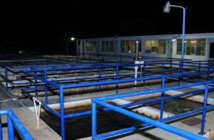 El Idaan precisó que buscan optimizar el proceso de producción de la planta potabilizadora Jaime Díaz Quintero. Foto: Archivo