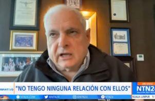 El exgobernante Ricardo Martinelli señaló que estas nuevas revelaciones buscan acabar con el prestigio de la República de Panamá.