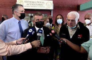 En reiteradas ocasiones, el abogado Sidney Sittón ha cuestionado la forma en que los fiscales son escogidos y promovidos en el MP. Foto: Víctor Arosemena