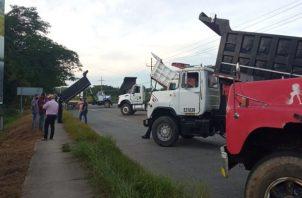 Rubén Darío Ríos, dirigente de los camioneros, precisó que desde que inició la pandemia son pocos los proyectos en los que han podido trabajar, sin embargo, las deudas con los bancos se mantienen. Foto: Thays Domínguez