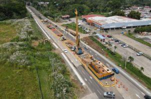 Los pilotes de la Línea 3 del Metro de Panamá tienen mayor diámetro que los de las líneas anteriores, por las condiciones del diseño. Cortesía: Metro de Panamá