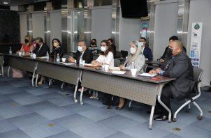 Primera reunión de la mesa técnica. Foto: Cortesía/AN