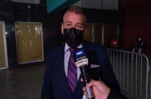 El abogado Sidney Sittón, defensa del expresidente Ricardo Martinelli. Foto: Grupo Epasa