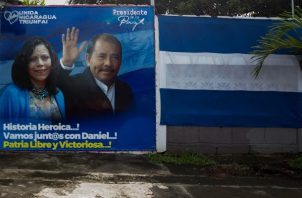 El presidente de Nicaragua, Daniel Ortega, se encamina a su tercera reelección. Foto: EFE