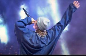 El documental reúne todo lo que ocurrió en 'T-Mobile presenta la víspera de Año Nuevo en vivo con Justin Bieber'. Foto: Amazon Prime Video