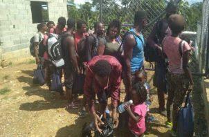 El problema de los migrantes en Darién ha ido en aumento. Foto; Grupo Epasa